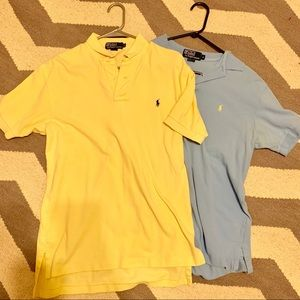 Other - 2 Polo Shirts Good Condition Thicker Polo material